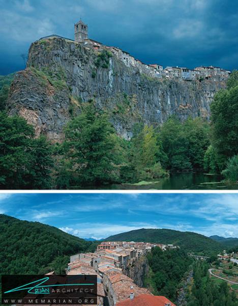 شهر صخره ای در کاتالونیا -خانه کوهستانی