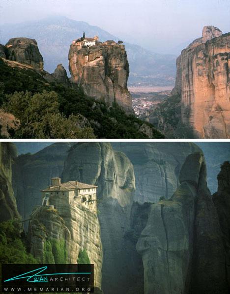 خانه راهب نوک کوه -خانه کوهستانی