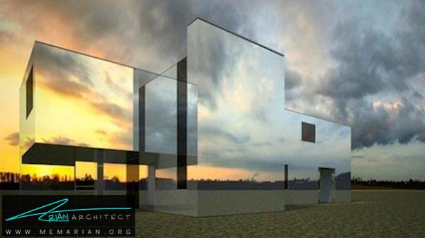 خانه ای در آینده - خطای دید در معماری