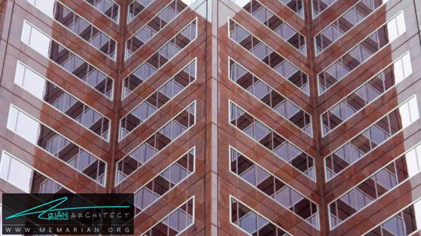 برج منعکس - خطای دید در معماری