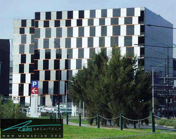 ساختمان خدمات گمرکی استرالیا در ملبورن - خطای دید در معماری
