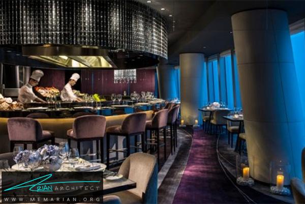 رستوران بین الملی چینی - رستوران های مرتفع