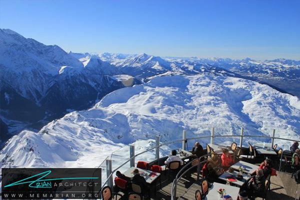 رستوران کوهستانی مرتفع- رستوران های مرتفع