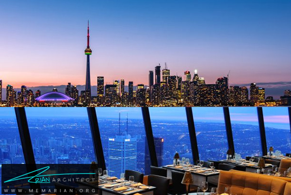 رستوران برج سی ان- رستوران های مرتفع