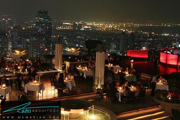 رستوران سیروکو در تایلند- رستوران های مرتفع