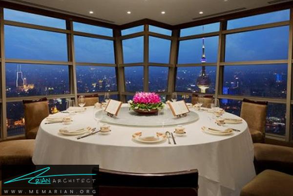 رستوران جین مائو در شانگهای- رستوران های مرتفع
