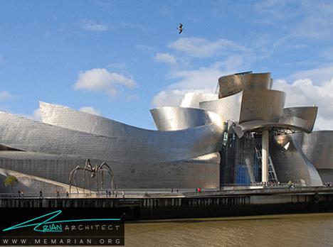 موزه گوگنهایم در اسپانیا - معماری عجیب و غریب