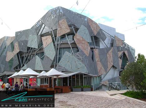 ساختمان چند ضلعی عجیب - معماری عجیب و غریب