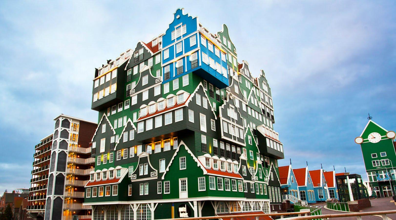 14 هتل عجیب و شگفت انگیز در انگلستان