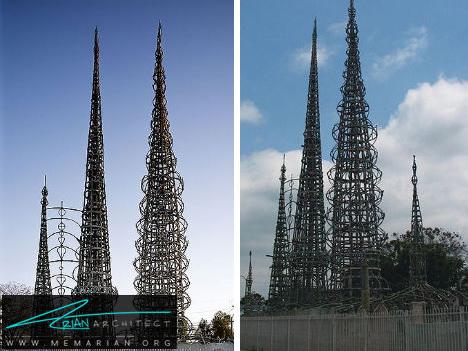 برج های فلزی - آسمان خراش های عجیب و غریب