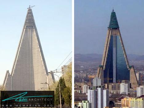 هتل مثلثی - آسمان خراش های عجیب و غریب
