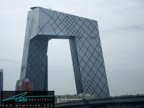 آسمان خراش عجیب در چین - آسمان خراش های عجیب و غریب