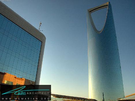 آسمان خراش مرکز پادشاهی عربستان - آسمان خراش های عجیب و غریب