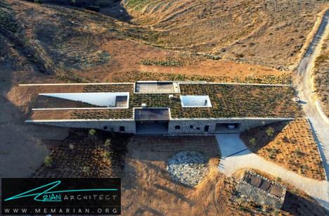 خانه یونانی با ویژگی های متمایز -خانه زیرزمینی