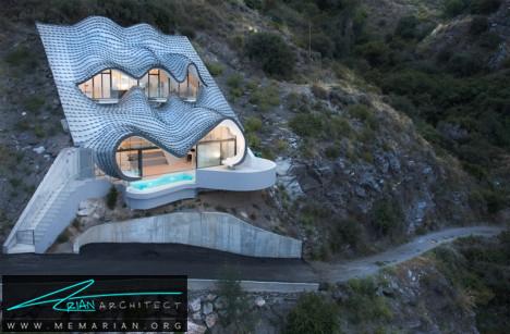 خانه اژدها در اسپانیا -خانه زیرزمینی