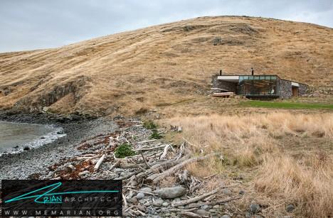 خانه زیرزمینی کنار دریاچه-خانه زیرزمینی