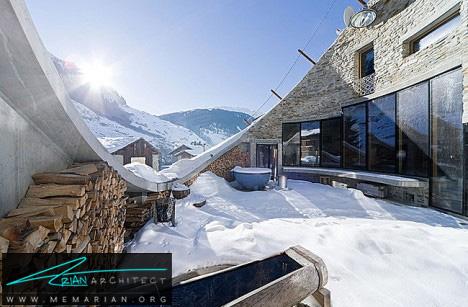 خانه زیرزمینی تمام عیار در سوئیس-خانه زیرزمینی