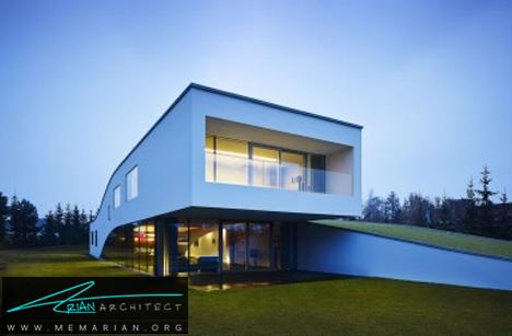خانه های سازگار با محیط زیست -خانه زیرزمینی