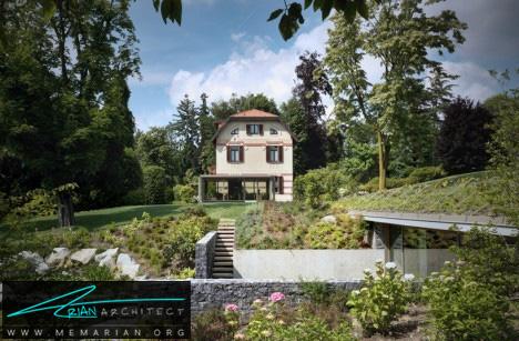 خانه تپه ای جذاب - خانه زیرزمینی