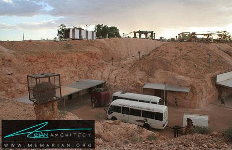 شهر زیر زمینی در استرالیا-شهر های عجیب و غریب