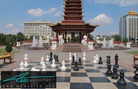 شهر شطرنج در روسیه -شهر های عجیب و غریب