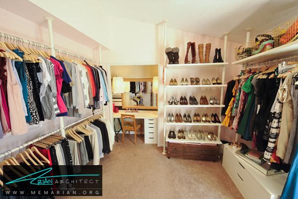 معماری و طراحی دکوراسیون بوتیک و لباس فروشی