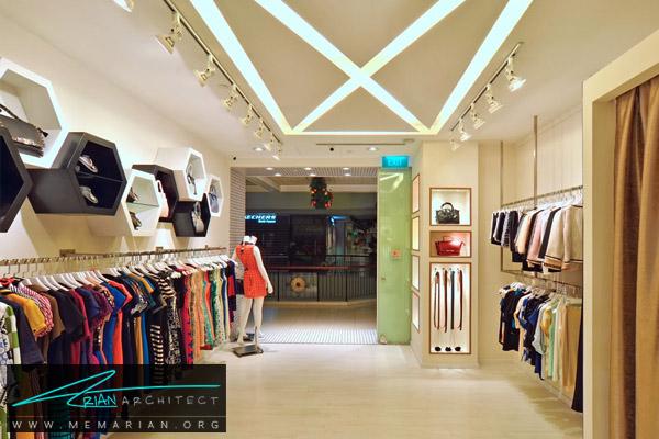 اهمیت دکوراسیون اختصاصی در لباس فروشی -دکوراسیون بوتیک
