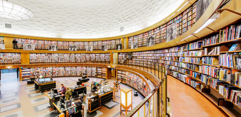 طراحی فضای داخلی و معماری کتابخانه