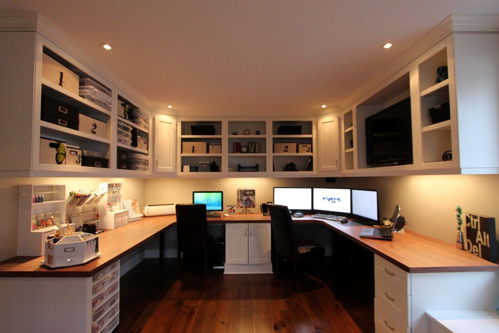معماری و طراحی داخلی دفتر کار خانگی