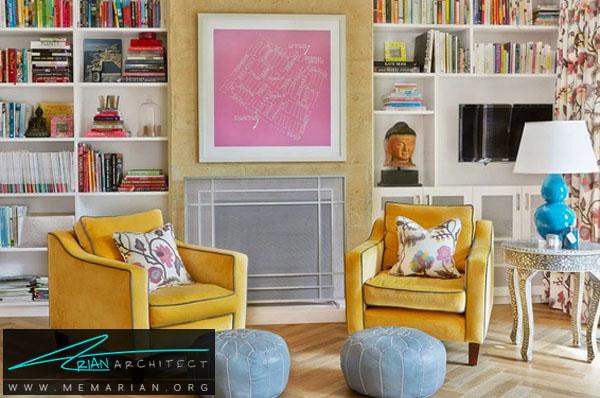 یک قطعه هنری صورتی از مرکزیت اتاق خود را ایجاد کنید -دکوراسیون صورتی