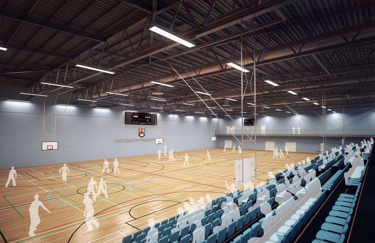 طراحی و معماری سالن های ورزشی