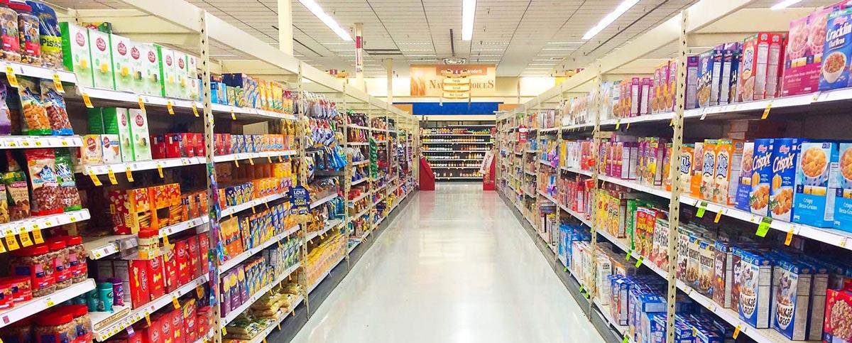 طراحی فضای داخلی و معماری سوپر مارکت