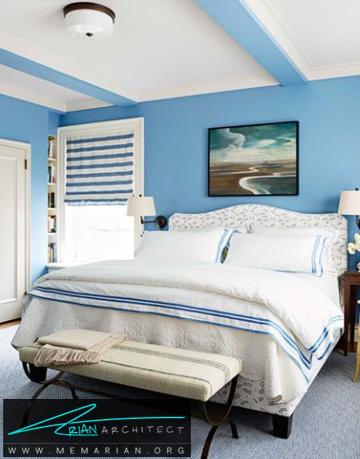 اتاق خواب دریایی -راهنمای انتخاب رنگ اتاق خواب