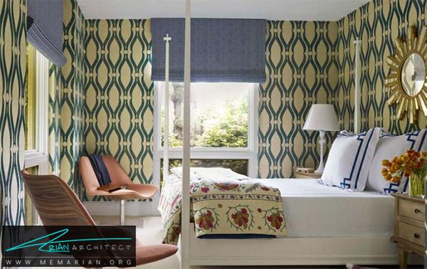 دکوراسیون اتاق خواب سبز و زرد - راهنمای انتخاب رنگ اتاق خواب