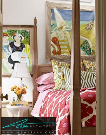سمفونی رنگ ها در اتاق خواب - راهنمای انتخاب رنگ اتاق خواب