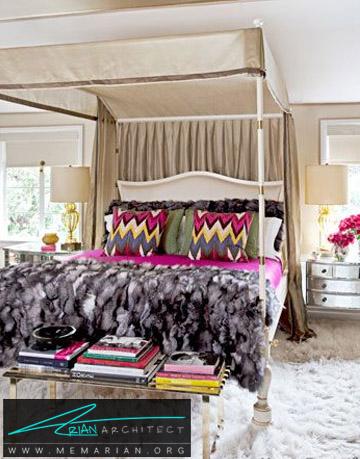 ترکیب صورتی، آبی و زرد - راهنمای انتخاب رنگ اتاق خواب