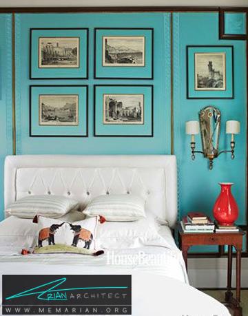 آکوامارین - راهنمای انتخاب رنگ اتاق خواب