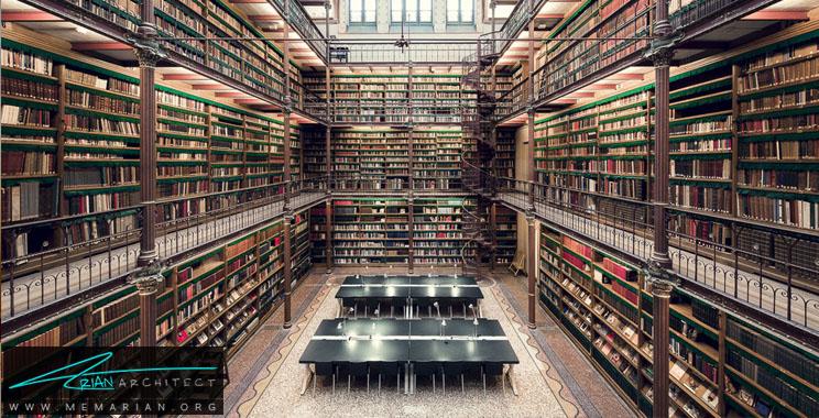 طراحی فضای داخلی کتابخانه های عمومی و دانشگاهی