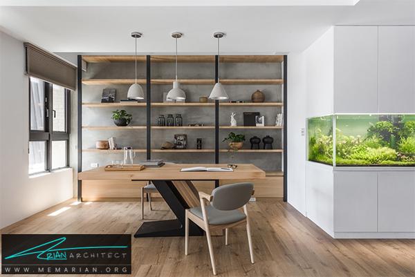 بهترین محیط کار در منزل - طراحی دفتر کار خانگی