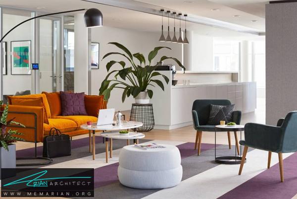 تزئین اتاق کار با بکارگیری گیاهان- طراحی دفتر کار خانگی