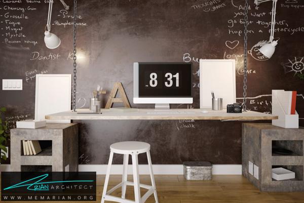 طراحی دفتر کار خانگی چیست؟