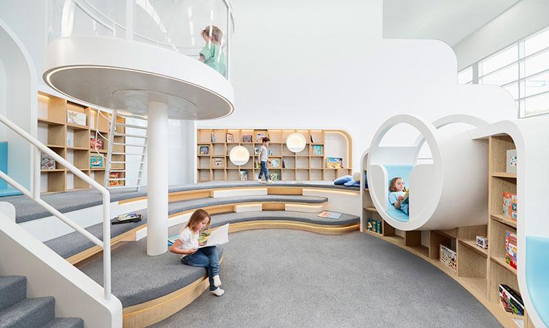 طراحی دکوراسیون داخلی مهد کودک