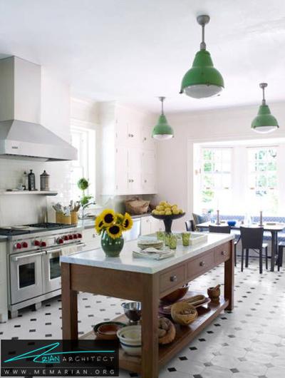 آشپزخانه بازسازی شده و مدرن -دکوراسیون داخلی آشپزخانه