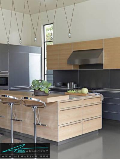 دکوراسیون ساده و کاربردی -دکوراسیون داخلی آشپزخانه