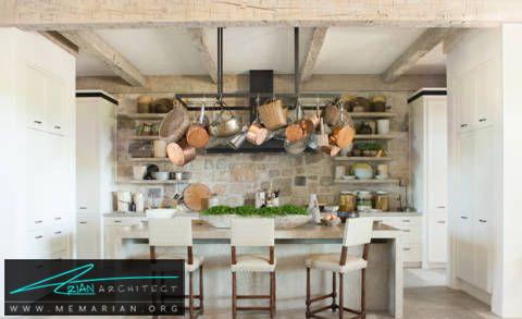 دکوراسیون نوستالژیک و قدیمی -دکوراسیون داخلی آشپزخانه