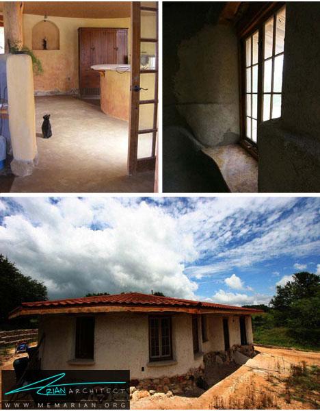 خانه های خشت و گلی- خانه های کوچک و ارزان