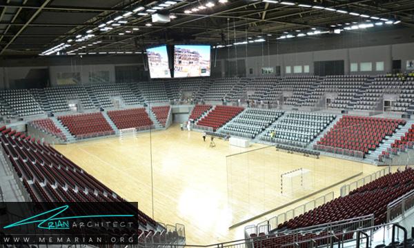 چالش های موجود در معماری سالن ورزشی- معماری سالن ورزشی