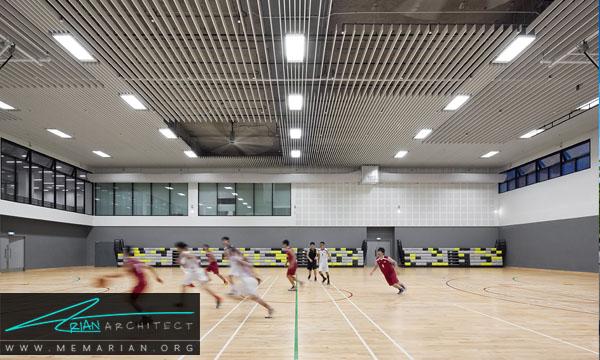 دسترسی ها در سالن ورزشی بایستنی چگونه باشد؟ - معماری سالن ورزشی