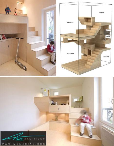 خوابگاه کوچک - خانه های کوچک