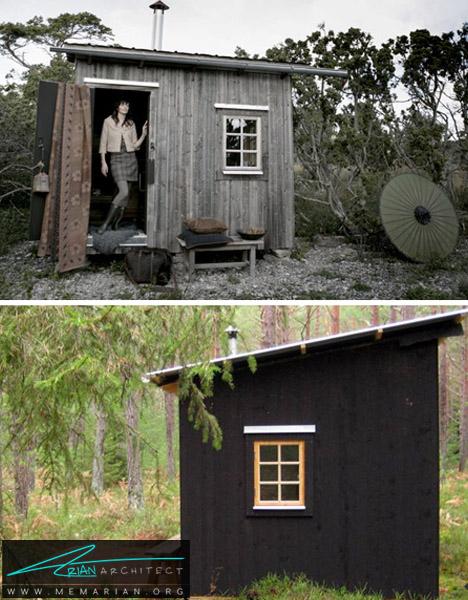 کلبه جنگلی دنج- خانه های کوچک
